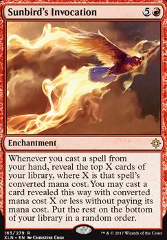 Ixalan: Sunbird's Invocation