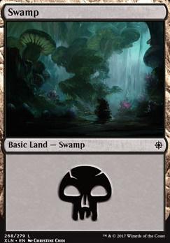 Ixalan: Swamp (268 A)
