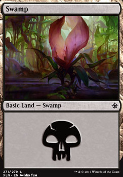 Ixalan: Swamp (271 D)
