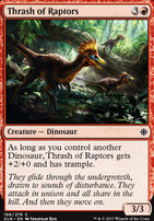 Ixalan: Thrash of Raptors