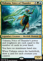 Ixalan Foil: Tishana, Voice of Thunder