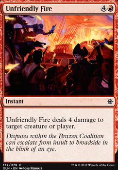 Ixalan: Unfriendly Fire