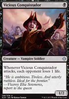 Ixalan Foil: Vicious Conquistador