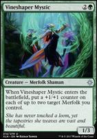 Ixalan Foil: Vineshaper Mystic