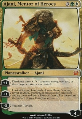 Journey into Nyx: Ajani, Mentor of Heroes