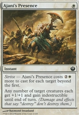 Magic The Gathering Cards | Journey into Nyx | Ajani's ...
