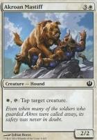 Journey into Nyx Foil: Akroan Mastiff