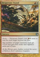 Journey into Nyx Foil: Desperate Stand