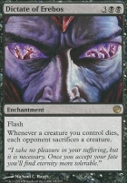 Journey into Nyx Foil: Dictate of Erebos