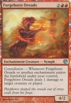 Journey into Nyx Foil: Forgeborn Oreads