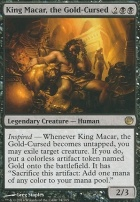 Journey into Nyx Foil: King Macar, the Gold-Cursed