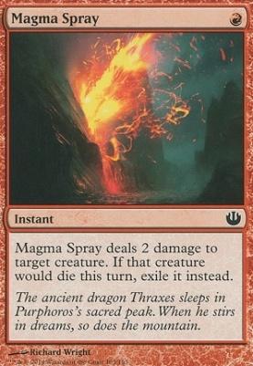 Journey into Nyx: Magma Spray