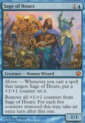 Journey into Nyx Foil: Sage of Hours
