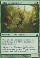 Journey into Nyx Foil: Satyr Grovedancer