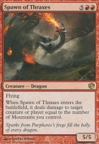Journey into Nyx Foil: Spawn of Thraxes