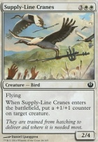 Journey into Nyx Foil: Supply-Line Cranes