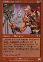 Judgment: Barbarian Bully