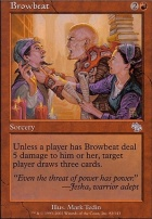Judgment Foil: Browbeat