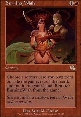 Judgment Foil: Burning Wish