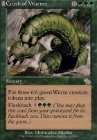 Judgment Foil: Crush of Wurms