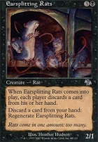 Judgment Foil: Earsplitting Rats