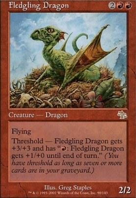 Judgment Foil: Fledgling Dragon