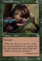 Judgment Foil: Giant Warthog