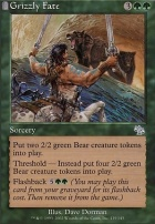 Judgment Foil: Grizzly Fate