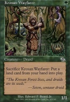 Judgment Foil: Krosan Wayfarer
