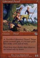Judgment Foil: Liberated Dwarf