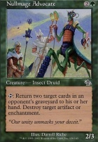 Judgment Foil: Nullmage Advocate