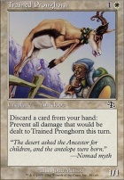 Judgment Foil: Trained Pronghorn