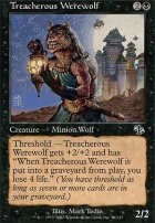 Judgment Foil: Treacherous Werewolf