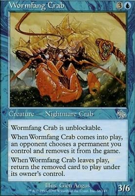 Judgment Foil: Wormfang Crab