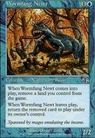 Judgment Foil: Wormfang Newt
