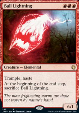 Jumpstart: Ball Lightning