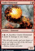 Jumpstart: Cinder Elemental