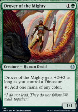 Jumpstart: Drover of the Mighty