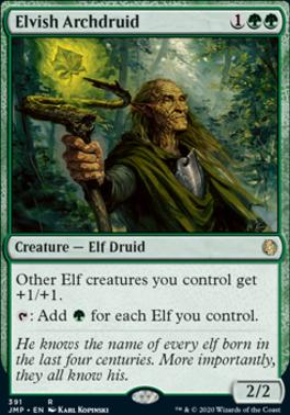 Jumpstart: Elvish Archdruid