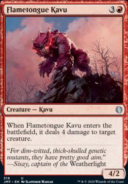 Jumpstart: Flametongue Kavu