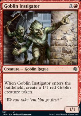 Jumpstart: Goblin Instigator