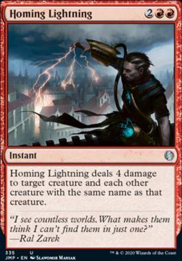 Jumpstart: Homing Lightning