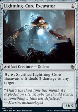 Jumpstart: Lightning-Core Excavator
