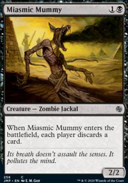 Jumpstart: Miasmic Mummy