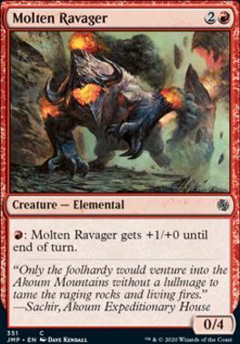 Jumpstart: Molten Ravager