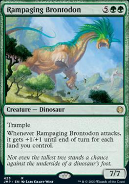 Jumpstart: Rampaging Brontodon