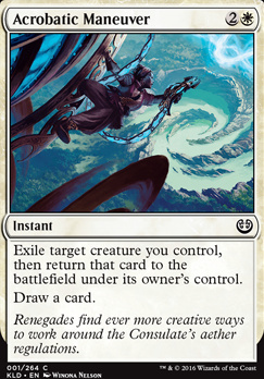 Kaladesh Foil: Acrobatic Maneuver