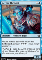 Kaladesh Foil: Aether Theorist
