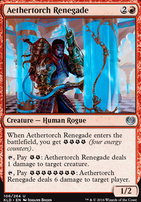 Kaladesh Foil: Aethertorch Renegade