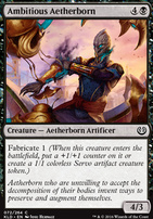 Kaladesh Foil: Ambitious Aetherborn